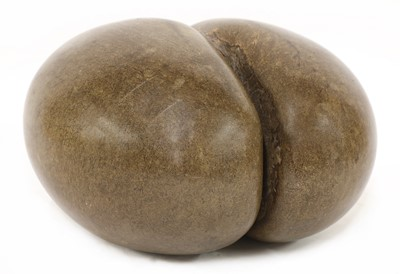 Lot 120 - A sea coconut or coco de mer (Lodoicea maldivica)