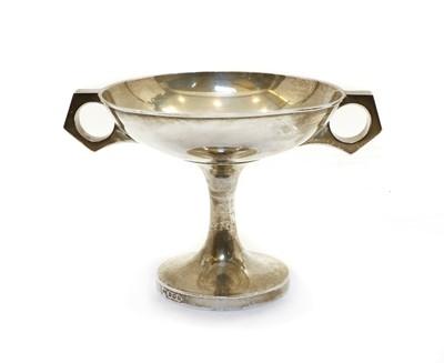 Lot 58 - A silver tazza
