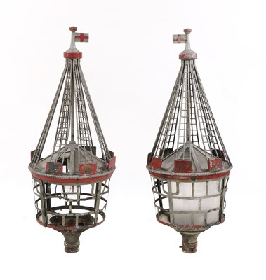 Lot 438 - A pair of  lamps from Southend Pier