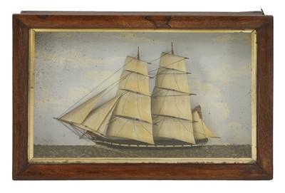 Lot 124 - A pair of ship dioramas