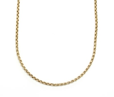 Lot 94 - A gold chain, c.1900