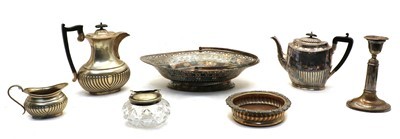 Lot 5 - Mixed silver plated items
