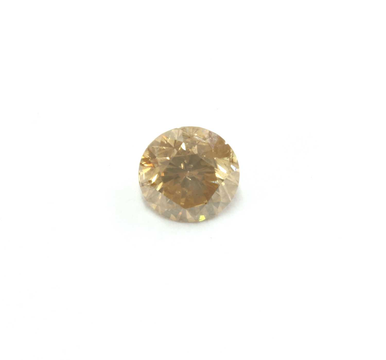 Lot 64 - An unmounted brilliant cut diamond