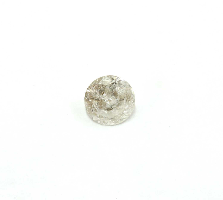 Lot 63 - An unmounted brilliant cut diamond