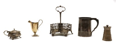 Lot 7 - Five silver items