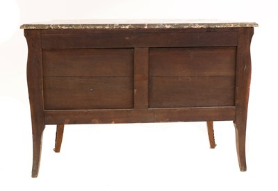 Lot 17 - A French Louis XV kingwood, marquetry-inlaid and ormolu-mounted commode