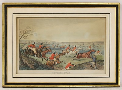 Lot 3 - Thomas Fielding (1758-1820), after Henry Thomas Alken (1785-1851)