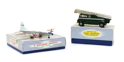 Lot 54 - Two boxed Dinky Supertoys