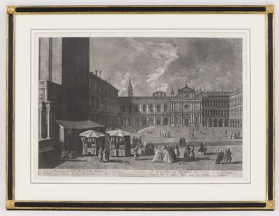 Lot 58 - Bernhard Vogel (1686-1737), after Johan Richter