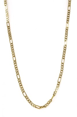 Lot 91 - A gold chain