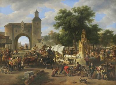 Lot 54 - Jean-Louis Demarne (Belgian, 1752-1829)