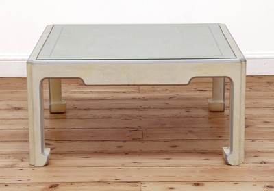 Lot 32 - A Chinese-style square coffee table