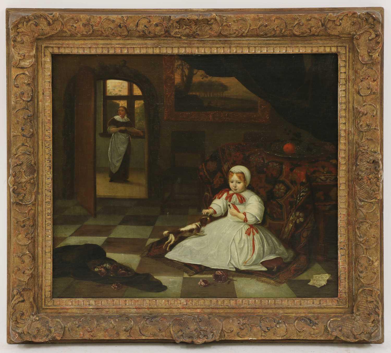 Lot 29 - Richard Brakenburgh (Dutch, 1650-1702)