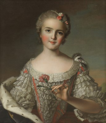 Lot 37 - Circle of Jean-Marc Nattier (French, 1685-1766)