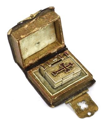 Lot 471 - A grand tour souvenir silver gilt bracelet