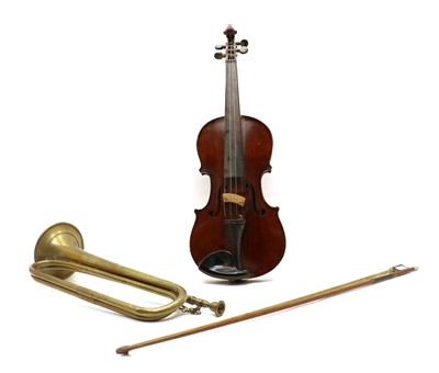 Lot 85 - The Maidstone vintage violin and bow