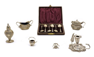 Lot 3 - A group of various silver items