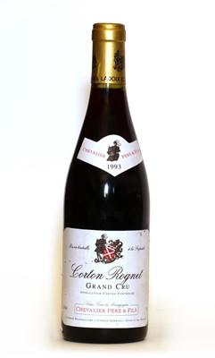 Lot 48 - Corton Rognet, Grand Cru, Domaine Chevalier, 1993, one bottle