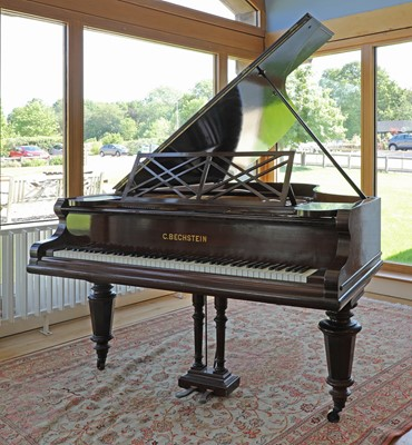 Lot 140 - A Victorian mahogany baby grand piano by Bechstein