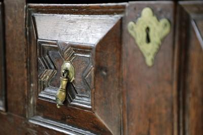 Lot 211 - A James II oak dresser