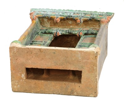 Lot 18 - A Chinese earthenware model