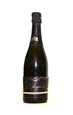 Lot 5 - Pol Roger, Sir Winston Churchill, Epernay, 1982, one bottle (neck label lacking)