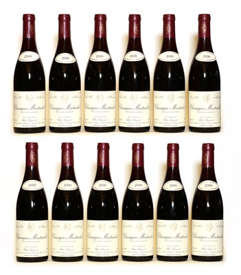 Lot 53 - Chassagne Montrachet, 1er Cru, Blain-Gagnard, 2000, twelve bottles (boxed)