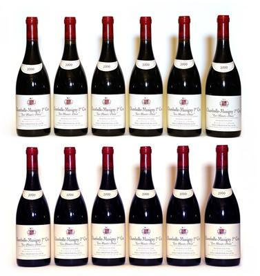 Lot 54 - Chambolle Musigny, 1er Cru, Les Haut-Doix, Robert Groffier, 2000, twelve bottles