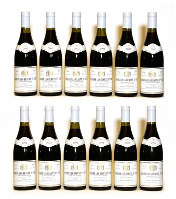 Lot 56 - Savigny-Les-Beaune, 1er Cru, Les Serpentieres, Maurice Ecard, 2002, twelve bottles (boxed)