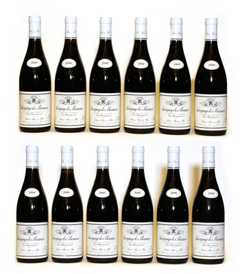 Lot 57 - Savigny-Les-Beaune, 1er Cru, Les Bourgeots, Simon Bize, 2000, twelve bottles (boxed)