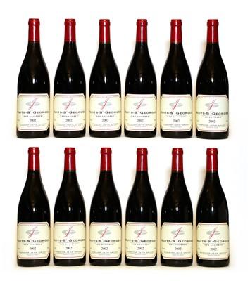Lot 59 - Nuits-Saint-Georges, 1er Cru, Les Lavieres, Jean Grivot, 2002, twelve bottles (boxed)