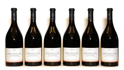 Lot 60 - Aloxe-Corton, 1er Cru, Fournieres, Domaine Tollot Beaut, 2000, six bottles (boxed)