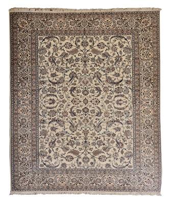 Lot 145 - A North-West Persian Nain carpet