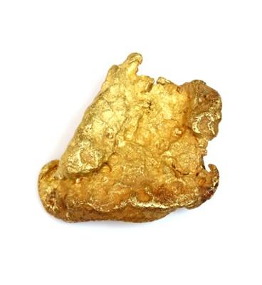 Lot 134 - A high carat gold nugget