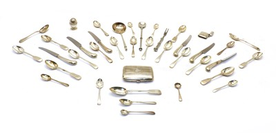 Lot 53 - Mixed silver items