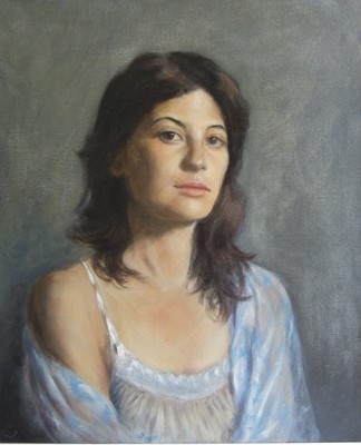 Lot 19 - A portrait by artist Edward Fremantle