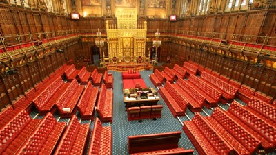 Lot 5 - The Viscount Trenchard will give a personally guided tour of the House of Lords