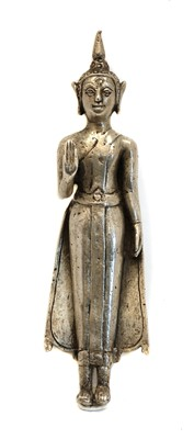 Lot 33 - A standing Buddha figure
