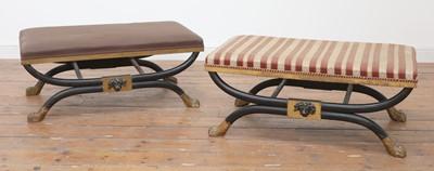 Lot 469 - A pair of stools
