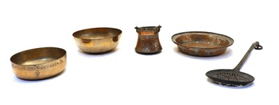 Lot 88 - A 19th century tinned copper dish