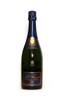Lot 9 - Pol Roger, Sir Winston Churchill, Epernay, 1998, one bottle