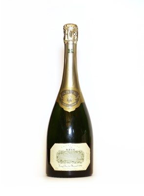 Lot 11 - Krug, Clos de Mesnil, Reims, 1990, one bottle (OWC)