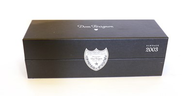 Lot 12 - Dom Perignon, Epernay, 2003, one bottle (boxed)