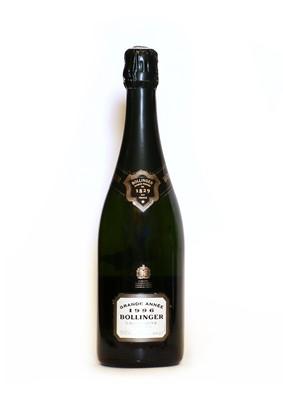 Lot 16 - Bollinger, Grande Annee, Ay, 1996, one bottle