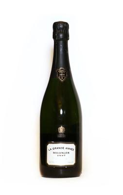 Lot 17 - Bollinger, Grande Annee, Ay, 1997, one bottle