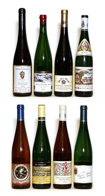 Lot 28 - Riesling Spatlese, Forster Jesuitengarten, Reichsrat von Buhl, 2002, one bottle and 7 various others