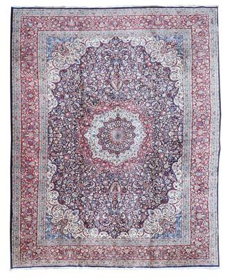 Lot 112 - A large Persian Khorassan carpet