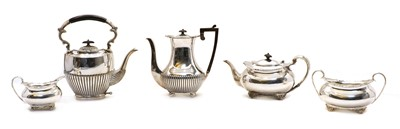 Lot 45 - A collection of silver plated items