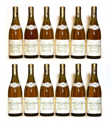 Lot 39 - Corton Charlemagne, Grand Cru, Domaine Michel Voarick, 1992, twelve bottles