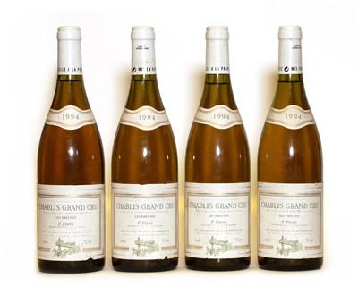 Lot 40 - Chablis, Les Preuses, Grand Cru, Domaine Fevre, 1994, four bottles